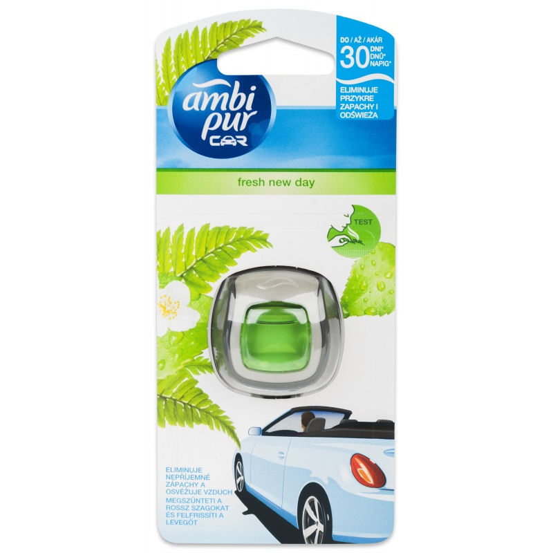 Ambi Pur Car Fresh New Day 2 ml strojek