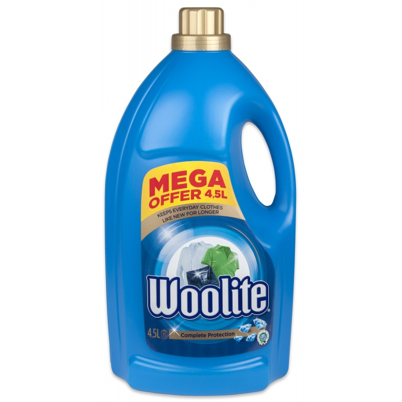 WOOLITE gel 4,5 l/75 PD Complete Protection