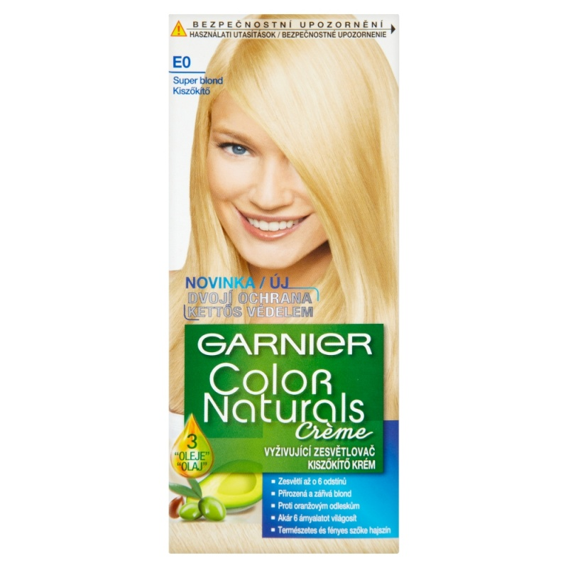 GARNIER Color Naturals E0 super blond