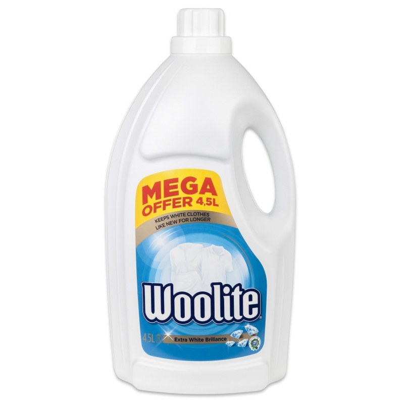WOOLITE gel 4,5 l/75 PD Extra White Brillance