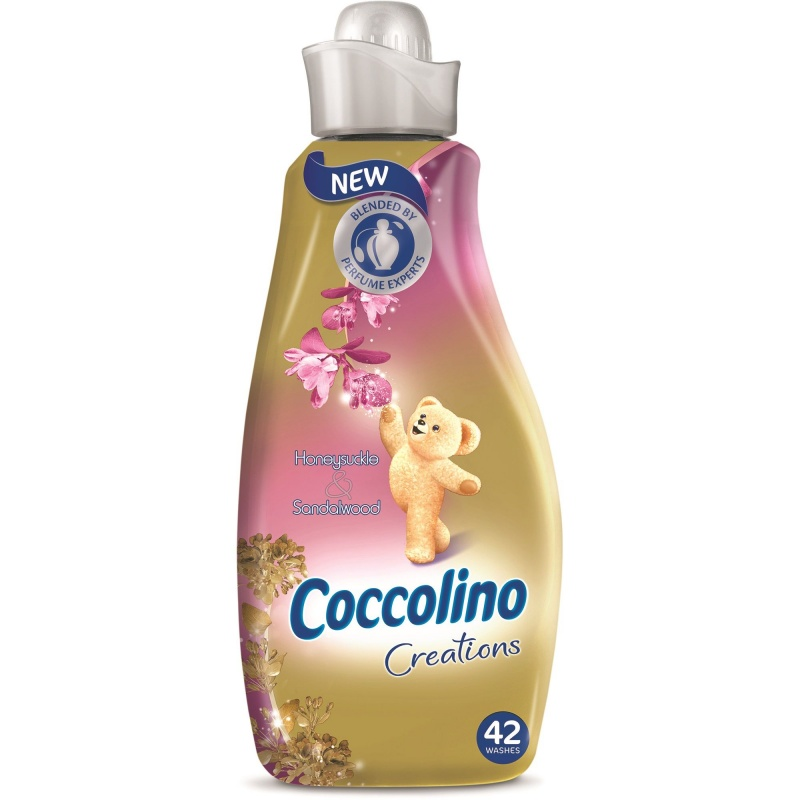 Aviváž COCCOLINO Honeysuckle & Sandalwood 1,5 l, 42 PD
