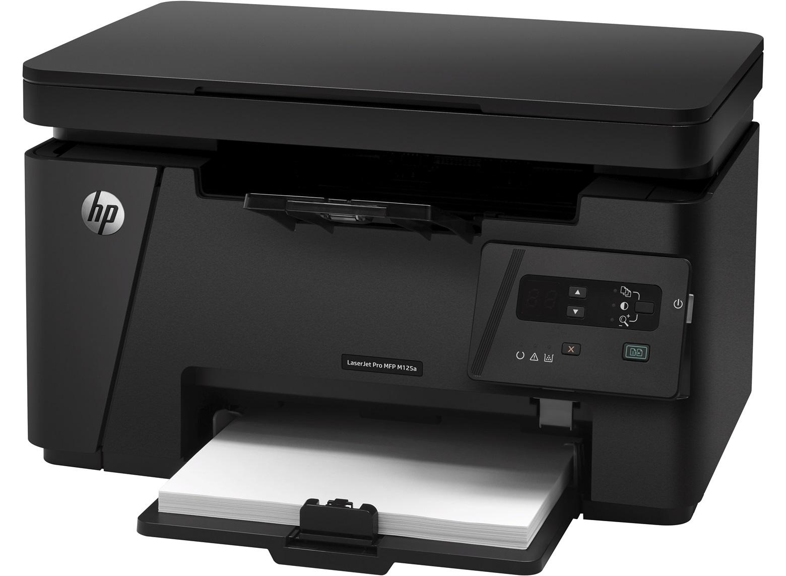 Cкачать драйвер HP LaserJet Pro MFP M125ra бесплатно