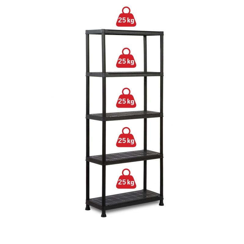 reg l policov plastov 176 x 75 x 32 cm 590 k. Black Bedroom Furniture Sets. Home Design Ideas